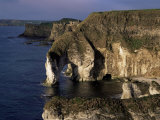 White Rocks and Wishing Arch, County Antrim, Northern Ireland, United Kingdom