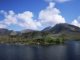 Derryclare Loch, Connemara, County Galway, Connacht, Eire (Republic of Ireland)