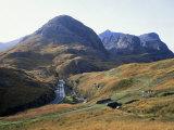 Glencoe and the Three Sisters, Highland Region, Scotland, United Kingdom