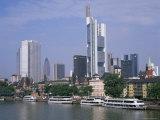 City Skyline, Frankfurt Am Main, Germany
