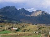 The Cuillin Hills from Torrin, Isle of Skye, Highland Region, Scotland, United Kingdom