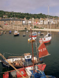 Mousehole Harbour, Cornwall, England, United Kingdom