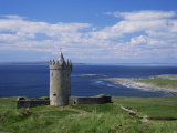 Doolin Tower and South Sound, County Clare, Munster, Eire (Republic of Ireland)