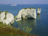 Old Harry Rocks, Isle of Purbeck, Dorset, England, UK