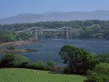 The Menai Bridge, Gwynedd, Wales, United Kingdom