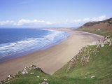 Rhossili Bay, Gower Peninsula, Wales, United Kingdom