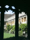 Cloister Quadrangle Detail, Magdalen College, Oxford, Oxfordshire, England, United Kingdom