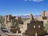 Kasbah, Dades Valley, and the Atlas Mountains, Morocco, North Africa, Africa