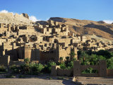 Kasbah of Ait Benhaddou, Atlas Mountains, Morocco, North Africa, Africa