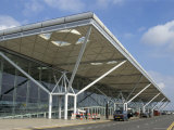 Stansted Airport Terminal, Stansted, Essex, England, United Kingdom