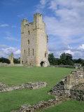 The Keep, Helmsley Castle, North Yorkshire, England, United Kingdom