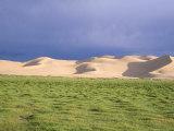 Khongryn Dunes, Gobi Desert, Gobi National Park, Omnogov Province, Mongolia, Central Asia