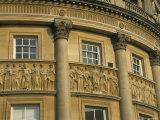 Architectural Detail the Circus, Bath, Unesco World Heritage Site, Avon, England, U.K.