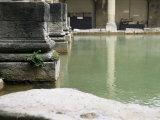 The Roman Baths, Bath, Avon, England, United Kingdom