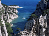Cassis, Calanque d'En Vau, Bouches-Du-Rhone, Provence, France, Mediterranean