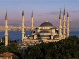 The Blue Mosque, Unesco World Heritage Site, Istanbul, Marmara Province, Turkey