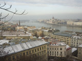 Embankment River Buildings, Budapest, Hungary