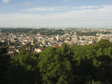 View of Old Town from Castle Hill, Unesco World Heritage Site, Lviv, Ukraine