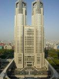 Metropolitan Government Building, Tocho, Shinjuku, Tokyo City, Honshu Island, Japan
