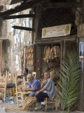 Men Working in Craft Shop, Tripoli, Lebanon, Middle East