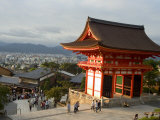 Kiyomizu Dera Temple, Unesco World Heritage Site, Kyoto City, Honshu, Japan