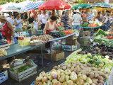 Fruit and Vegetable Market, Split, Dalmatia Coast, Croatia