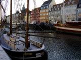 Nyhavn in Winter, Copenhagen, Denmark, Scandinavia