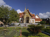 Wat Chalong Temple, Phuket, Thailand, Southeast Asia