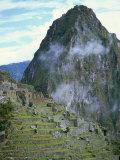 Inca Archaeological Site of Machu Picchu, Unesco World Heritage Site, Peru, South America