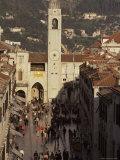 Dubrovnik, Unesco World Heritage Site, Dalmatia, Adriatic, Croatia