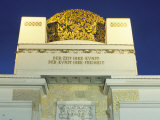 Detail of the Exterior of the Dome of the Art Nouveau Secession Building, Vienna, Austria