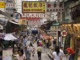 Gage Street, Central District, Hong Kong, China