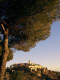 St. Paul De Vence at Sunset, Cote d'Azur, Provence, France