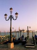 San Marco Pier at Sunset, Venice, Veneto, Italy