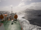Antarctic Dream Navigation on Rough Seas Near Cape Horn, Drake Passage, Antarctic Ocean, Patagonia