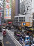 Des Voeux Road, Central District, Hong Kong, China