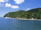 Tropical Beach, Marigot Bay, St. Lucia, Windward Islands, West Indies, Caribbean, Central America