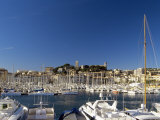 Old City and Tourist Harbour, Cannes, Alpes-Maritimes, Provence, French Riviera, France