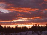 Sunset, Bryce Canyon National Park, Utah, USA