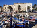 Ajaccio Harbour, Corsica, France, Mediterranean