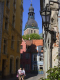 Narrow Streets of Riga, Lativa, Baltic States
