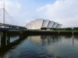 The Clyde Auditorium, Known as the Armadillo, Designed by Sir Norman Foster, Glasgow, Scotland