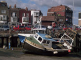 Fishing Boats, Portsmouth Harbour, Portsmouth, Hampshire, England, United Kingdom