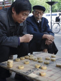 Playing Xiangqi, Chinese Chess, on the Streets of Beijing, China