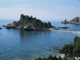 Isola Bella, Taormina, Island of Sicily, Italy, Mediterranean