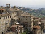 Town Skyline, Perugia, Umbria, Italy