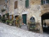 Street Scene, Montefalco, Umbria, Italy