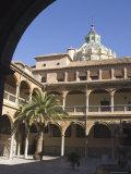 Courtyard of the Hospital of San Juan De Dios, Granada, Andalucia, Spain