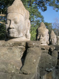 South Gate, Angkor Thom, Angkor, Unesco World Heritage Site, Siem Reap, Cambodia