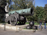Tsar Cannon, Cast in 1586, Wtih 890Mm Bore, Kremlin, Moscow, Russia
